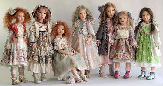 Коллекция кукол Zawieruszynski 2012 годв